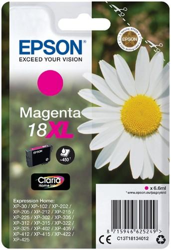 INKCARTRIDGE EPSON 18XL T1813 ROOD 1 Stuk