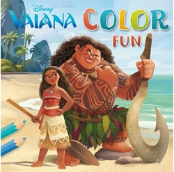 KLEURBOEK DISNEY VAIANA COLOR FUN 1 STUK