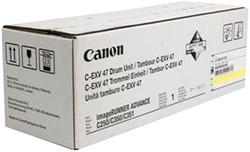 DRUM CANON C-EXV 47 33K GEEL 1 STUK