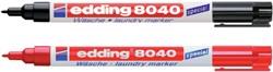 VILTSTIFT EDDING 8040 WASGOED ROND 1MM ZWART 1 STUK