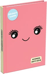 SCHOOLAGENDA 2018-2019 BUBBLE CUTE POCKET NL 1 STUK