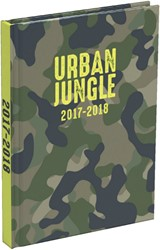 SCHOOLAGENDA 2018-2019 URBAN JUNGLE LARGE NL 1 STUK