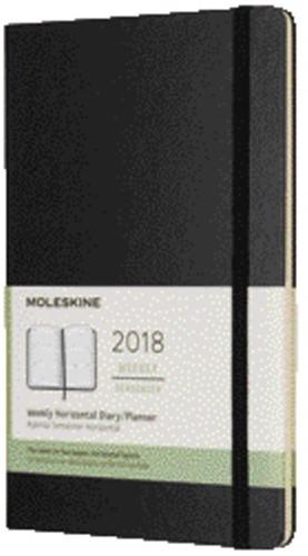 AGENDA 2018 MOLESKINE 12MND 7/2 LARGE HARD ZWART 1 STUK-6