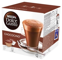 DOLCE GUSTO CHOCOCINO 16 CUPS / 8 DRANKEN 16 CUP