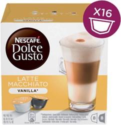 DOLCE GUSTO VANILLE MACCHIATO 16 CUPS / 8 DRANKEN 16 CUP