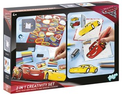 CREATIEF SET TOTUM STICKER EN WINDOW PAINT CARS 3 1 STUK