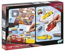 CREATIEF SET TOTUM STICKER EN WINDOW PAINT CARS 3 1 STUK