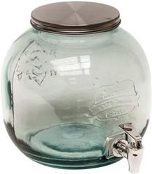 DRINKTAP 6L GLAS HELDER 23X24CM 1 STUK