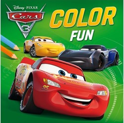 KLEURBOEK DISNEY COLOR FUN CARS 3 1 STUK