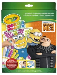 COLOR WONDER BOX CRAYOLA DESPICABLE ME 3 MINIONS 1 STUK