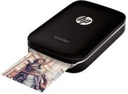 FOTO PRINTER HP SPROCKET ZWART 1 STUK