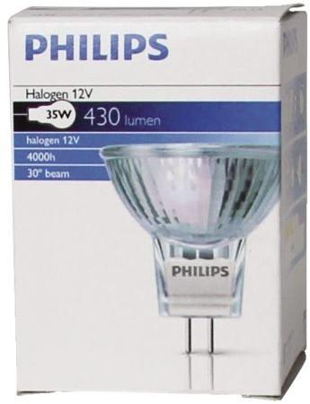 HALOGEENLAMP PHILIPS GU4 35W 12V BRILLIANTLINE 1 STUK-3
