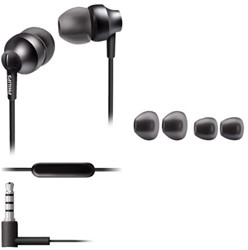 HEADSET PHILIPS E3955 IN EAR GRIJS 1 STUK