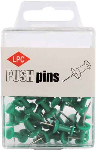 PUSH PINS LPC GROEN 40 Stuk