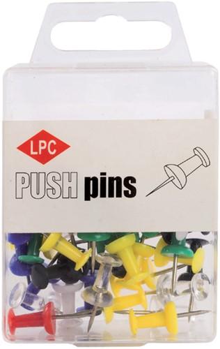 PUSH PINS LPC ASSORTI 40 Stuk