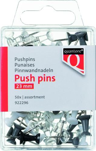 PUSH PINS QUANTORE ASSORTI 50 Stuk