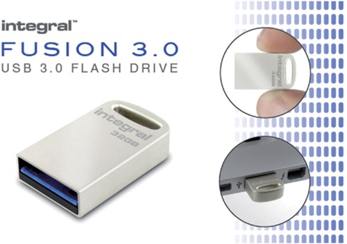 USB-STICK INTEGRAL FD 64GB METAL FUSION 3.0 1 STUK-3