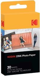 ZINK FOTOPAPIER KODAK PRINTOMATIC 50X76MM 20 VEL