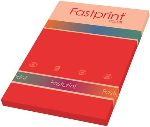 KOPIEERPAPIER FASTPRINT-100 A4 80GR FELROOD 100 Vel