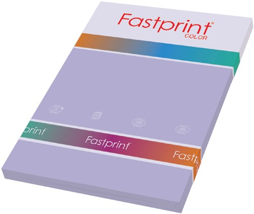 KOPIEERPAPIER FASTPRINT-100 A4 80GR LILA 100 Vel