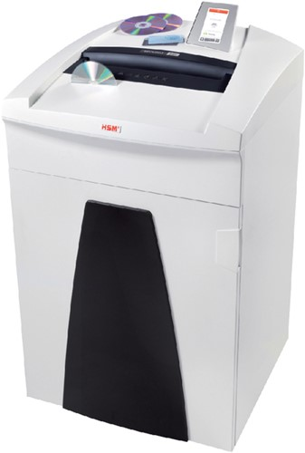 PAPIERVERNIETIGER HSM SECURIO P40I 4.5X30MM + CD 1 Stuk