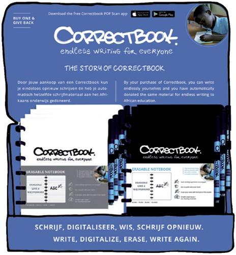 CORRECTBOOK A5 COUNTERDISPLAY 1 Stuk