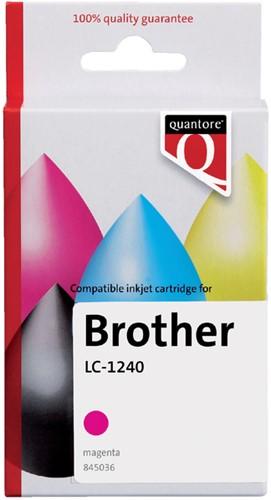 INKCARTRIDGE QUANTORE BRO LC-1240 ROOD 1 Stuk