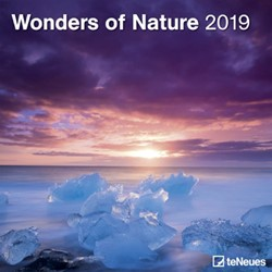 KALENDER 2019 TENEUES WONDERS OF NATURE 30X30CM 1 STUK