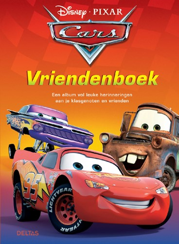 VRIENDENBOEK DISNEY DELTAS CARS 1 Stuk