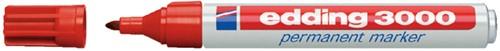 VILTSTIFT EDDING 3000 ROND 1.5-3MM ROOD 1 Stuk
