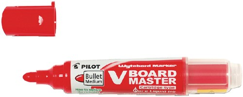 VILTSTIFT PILOT WHITEBOARD BEGREEN ROND 2.0MM RD 1 Stuk