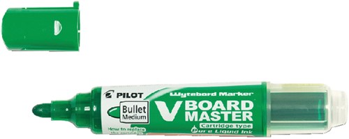 VILTSTIFT PILOT WHITEBOARD BEGREEN ROND 2.0MM GN 1 Stuk