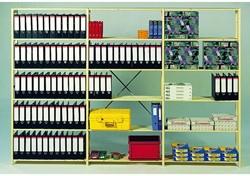 AANBOUWREK C131 MET 6 LEGBORDEN 100X50.2X208CM 1 STUK