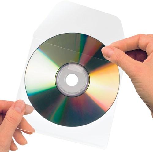 CD HOES 3L 6832-10 127X127MM MET KLEP ZELFKLEVEND 10 Stuk