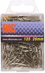 PAPERCLIP OIC 26MM ZILVER 125 STUK