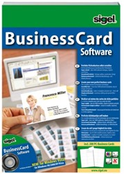 SOFTWARE SIGEL BUSINESSCARD MEERTALIG 1 STUK