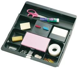 BUREAULADE ORGANIZER 3M POST-IT C71 ZWART 1 STUK