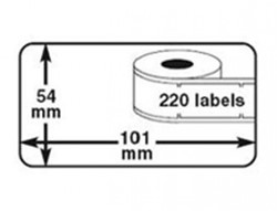 ALTERNATIEVE DYMO LABELS 99014 101x54mm VERZENDING