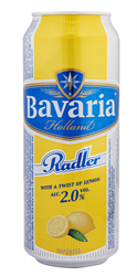 BAVARIA RADLER 2.0% LEMON 0.33L BLIK