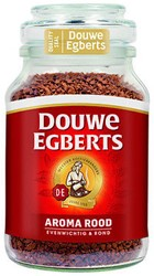 Douwe Egberts moccona oploskoffie aroma rood 6x200 gram