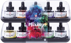 ECOLINE SET MIXING 10 X30 ML  ASSORTIE