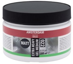 AMSTERDAM EXTRA HEAVY GEL MAT 250 ML.