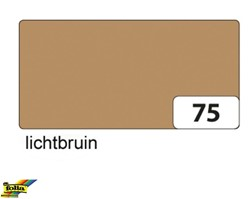 ENGELS KARTON 50X70 130 GRAMS LICHT BRUIN 75E