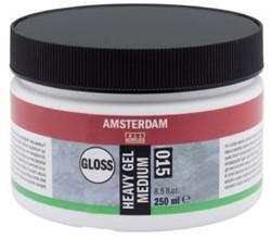 AMSTERDAM HEAVY GEL MEDIUM GLANS 250 ML.