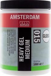 AMSTERDAM HEAVY GEL MEDIUM GLANS 1000 ML.