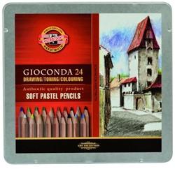 KOH-I-NOOR Gioconda pastelpotloden ass 24 st