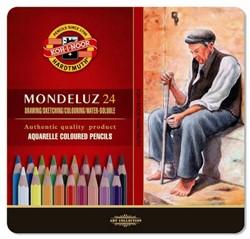 KOH-I-NOOR Mondeluz gold aquarelpotloden 24st