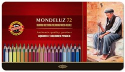 KOH-I-NOOR Mondeluz gold aquarelpotloden 72st