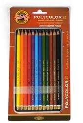 KOH-I-NOOR Polycolor kleurpotloden 12st