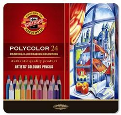 KOH-I-NOOR Polycolor kleurpotloden 24 st